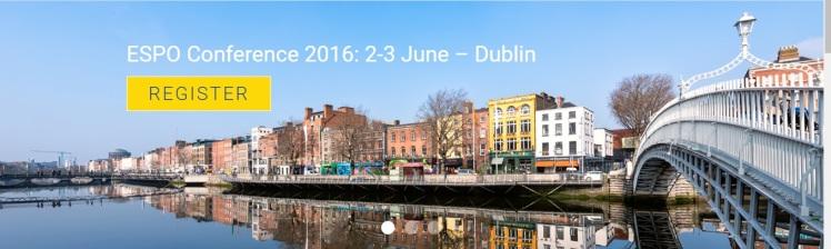 ESPO conference 2016