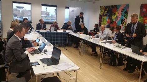 Fylkesvaraordfører Marianne Chesak deltok på Nordsjøkommisjonens styremøte i Brussel 21. oktober. Foto: Geir Sør-Reime.