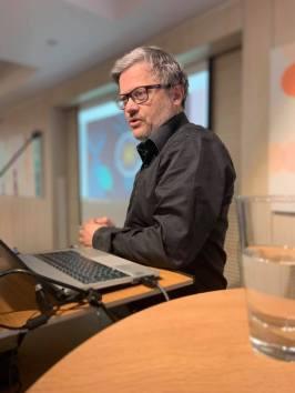 Olivier Marette fra Visit Brussels og president i Délice nettverket.