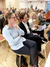 Det var godt oppmøte da Stavangerregionen ble profilert.