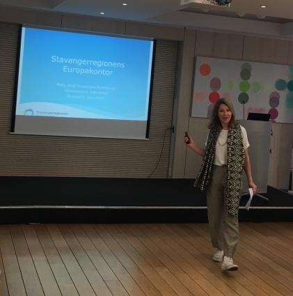Direktør ved Stavangerregionens Europakontor, Heidi Kristina Jakobsen.