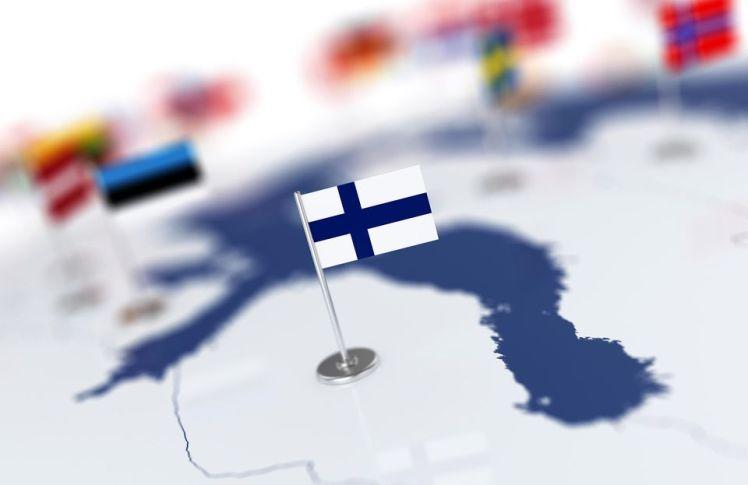 suomen lippu suomi kartta eu eurooppa euroopan unioni