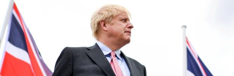Boris Johnson beim Wahlkampf für den Parteivorsitz der Konservativen und Premierminister